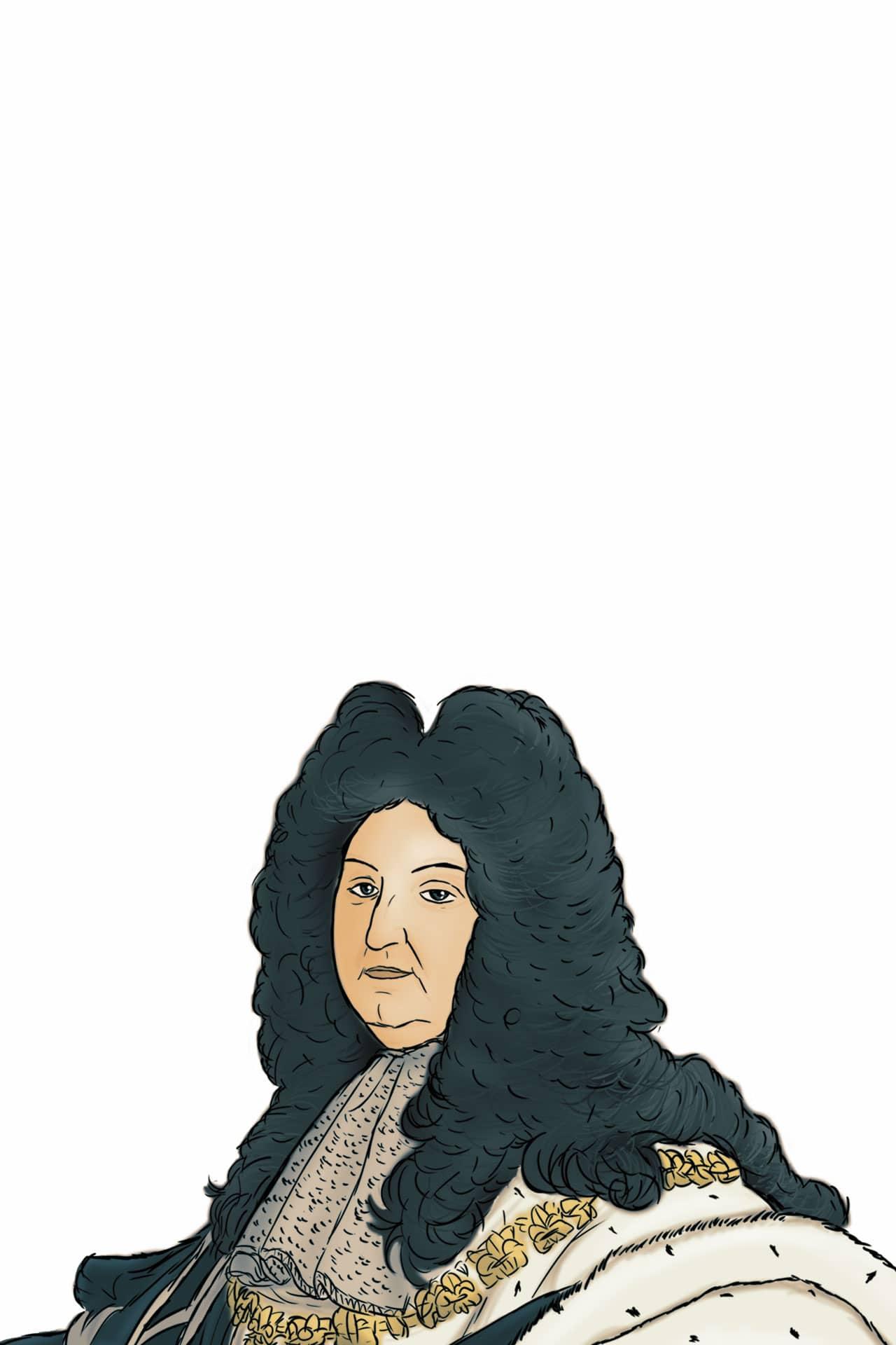 Zeichnung Ludwig XVI